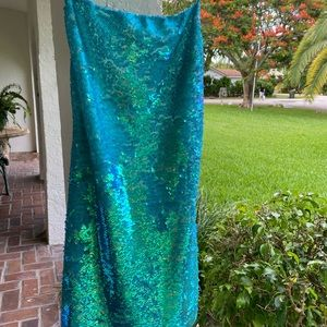 Kimchi Blue NWT-Sequined dress -turquoise blue.